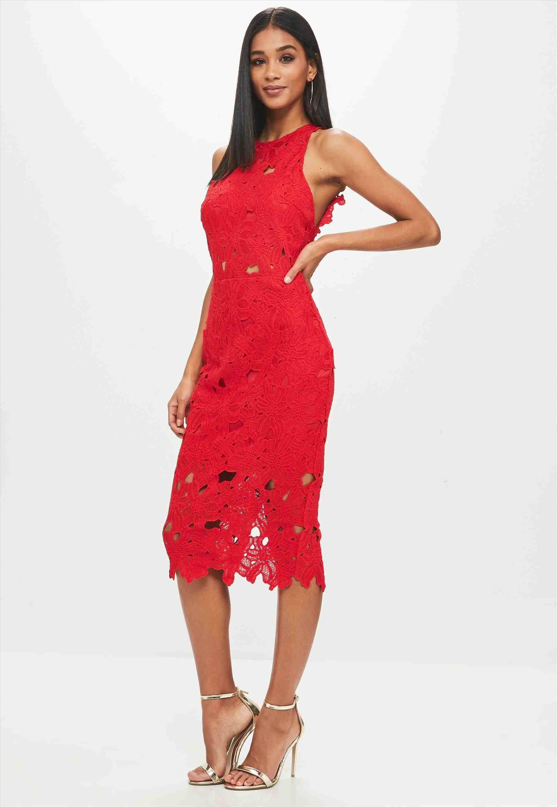 Crochet Lace Dress Red G21 Peach Pink Floral Black Slip Crochet Lace Pencil Tube Bodycon Tea Dress Clothing For Tall Women Red Lace Dress Crochet Lace Dress