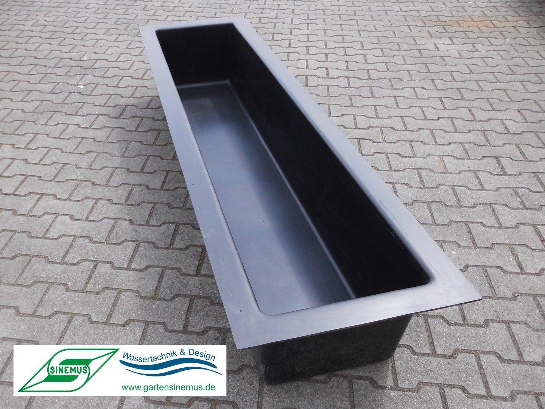 GFK-Wasserrinne 225x60x35cm