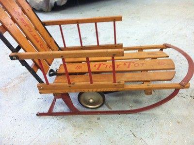 Sled Auto Wheel Coaster Co Tiny Tot
