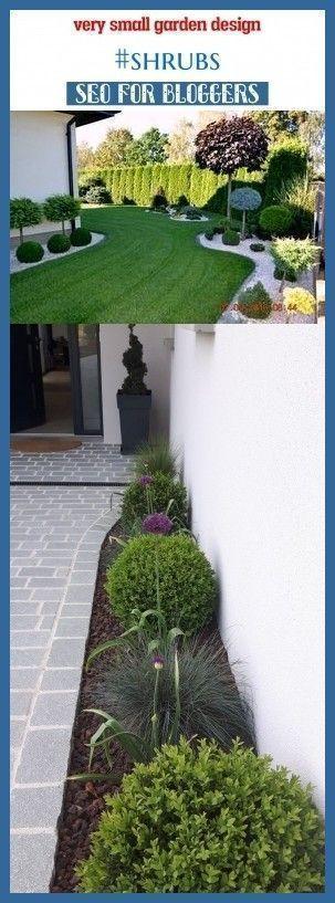 Very small garden design #shrubs #seo #blog #niches # ...