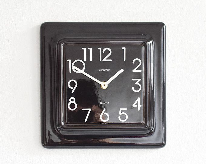 Cool Vintage Kienzle Wall Clock Kienzle Clock White Pottery Home Interior And Landscaping Synyenasavecom