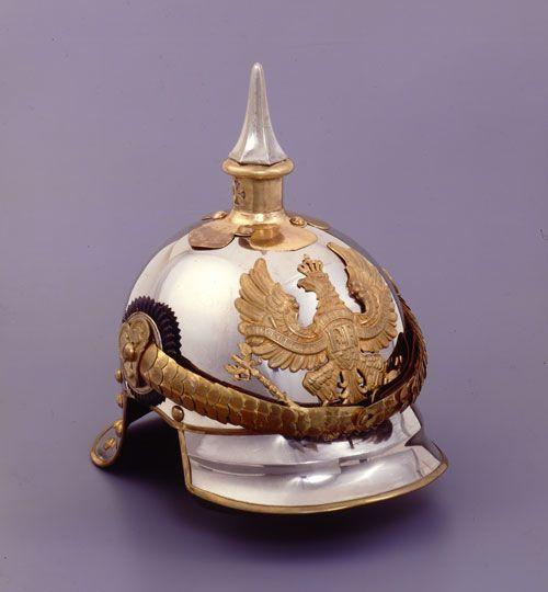 Yelmo tipo pickelhaübe que fue de Otto von Bismarck, 1867