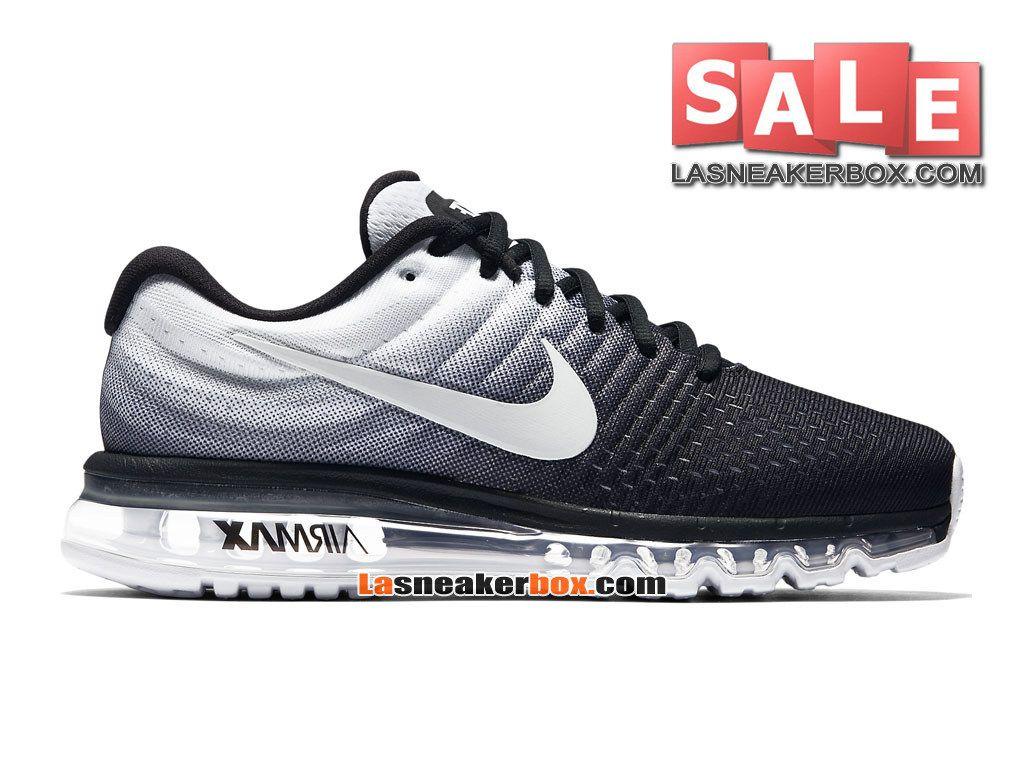 nike air max 2017 chaussure de pas nike running pas de cher pour homme noir 7d6024