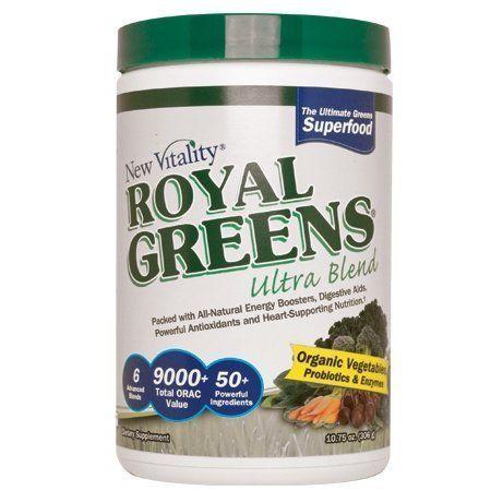 New Vitality Royal Greens Ultra Blendgreen Superfood Powder with ...