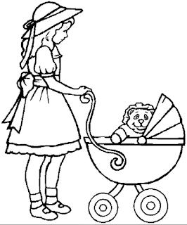 صور بنات وعرائس واميرات واولاد لتلوينها صور رسومات للتلوين لكل الاطفال في الحضانة والابتدائي Baby Coloring Pages Coloring Pages Kids Printable Coloring Pages
