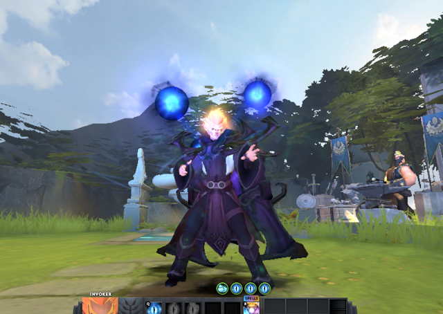 Mod Invoker Dark Artistry And Magus Apex Full Effect Dota2
