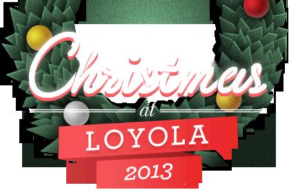 Loyola Calendar.Christmas At Loyola University Maryland Advent Calendar With