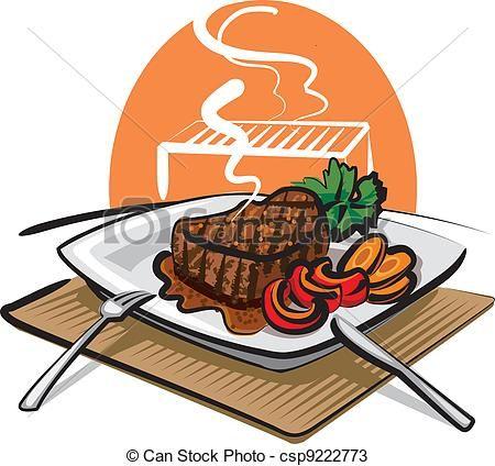 Dibujos De Asados Buscar Con Google Grilled Beef Beef Steak Roasted Chicken Wings