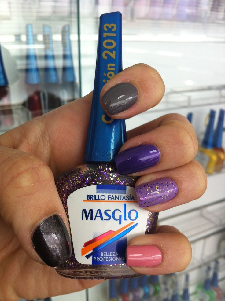 Brillo fansatía de #masglo http://www.nailartshop.co/shop/bases ...
