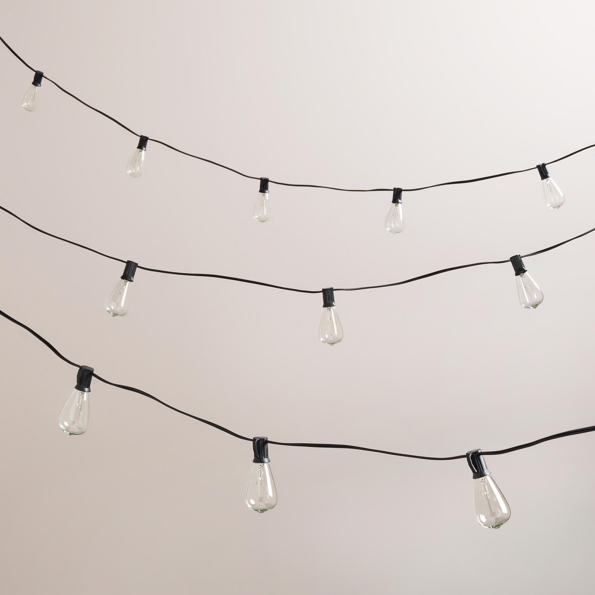 EdisonStyle String Lights World Market For my nest Pinterest