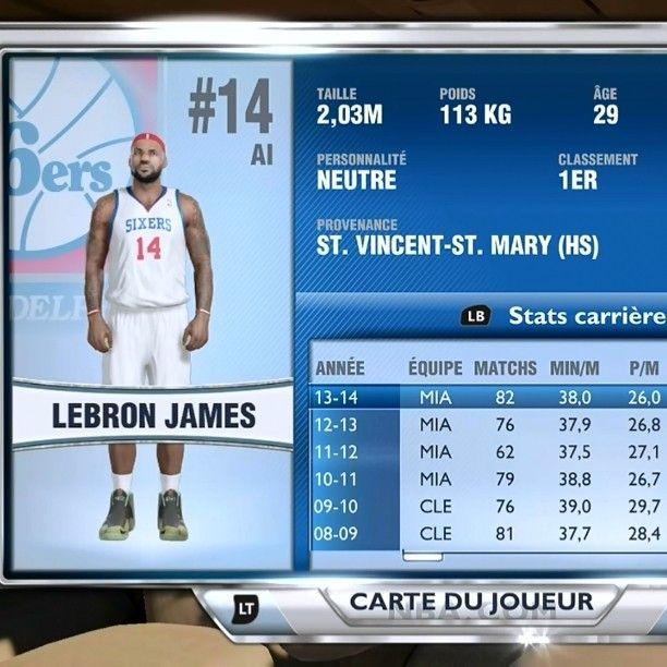 NBA 2k14 mon équipe Matchmaking