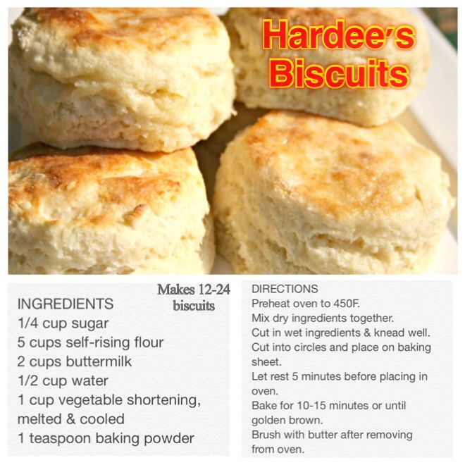 Simple And Fairly Easy Way To Make Your Very Own Hardee S Biscuits Without Even Leaving The Comforts Of Hardees Biscuit Recipe Biscuit Recipe Homemade Biscuits