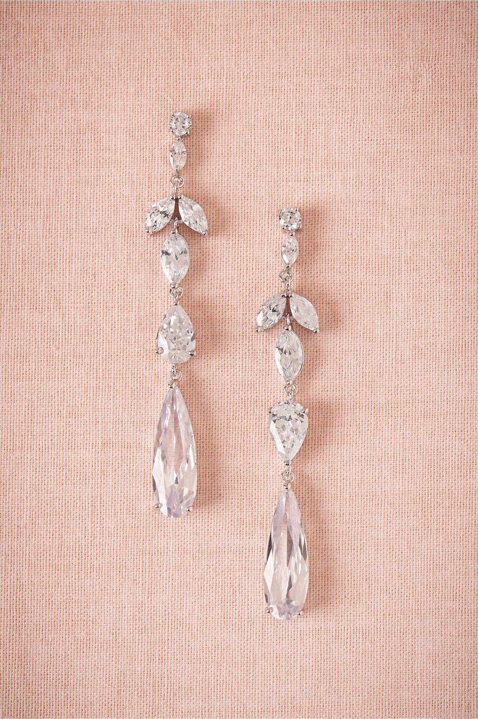 Crystal Marquee Drops Wedding Accessories Jewelry Bridal Jewellery Earrings Jewelry