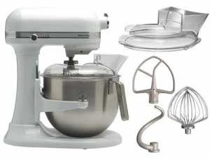 Amasadora batidora kitchenaid 5ksm7591x ewh heavy duty - Robot de cocina batidora ...
