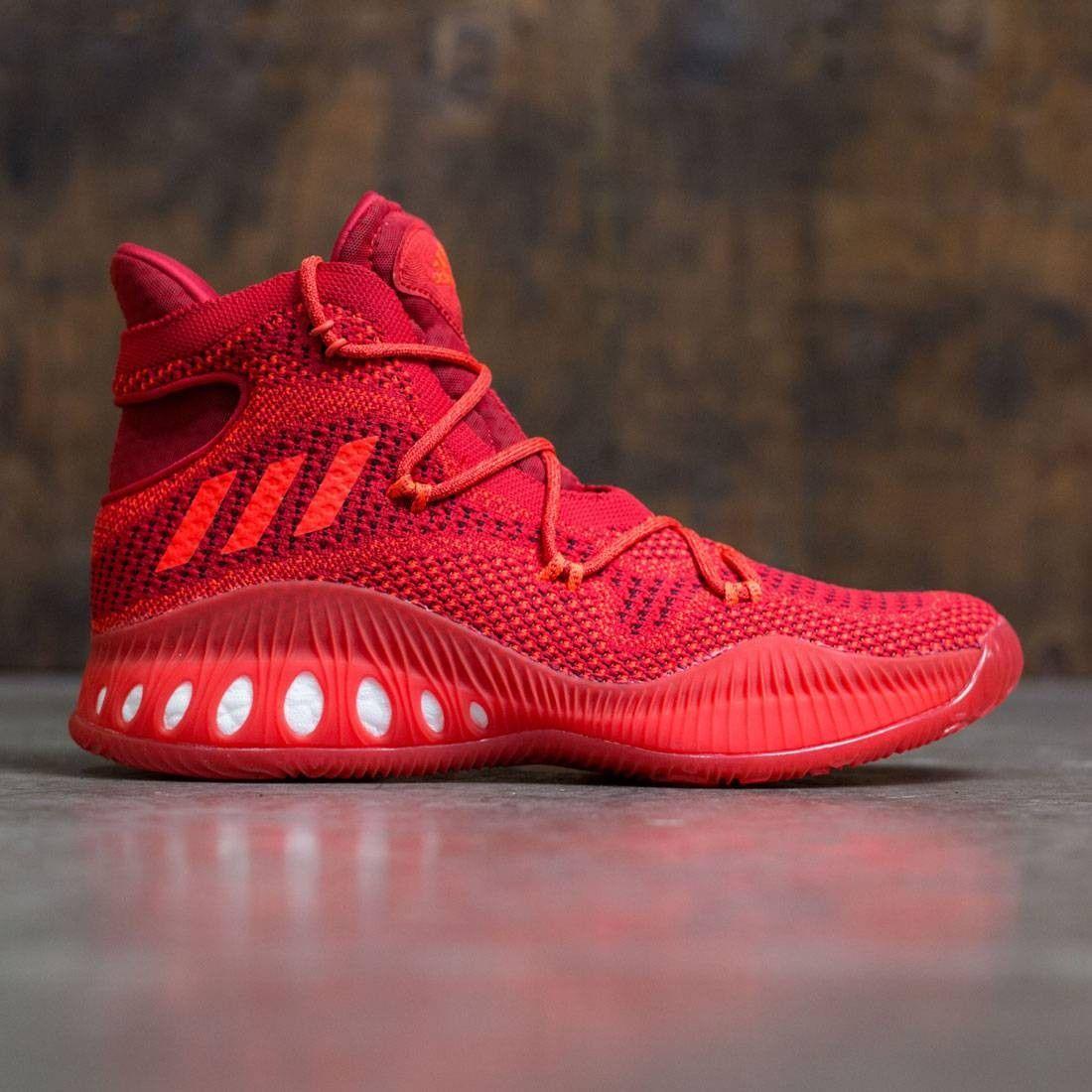 Adidas Men Crazy Explosive Primeknit (red / red solid / scarlet / solar red)