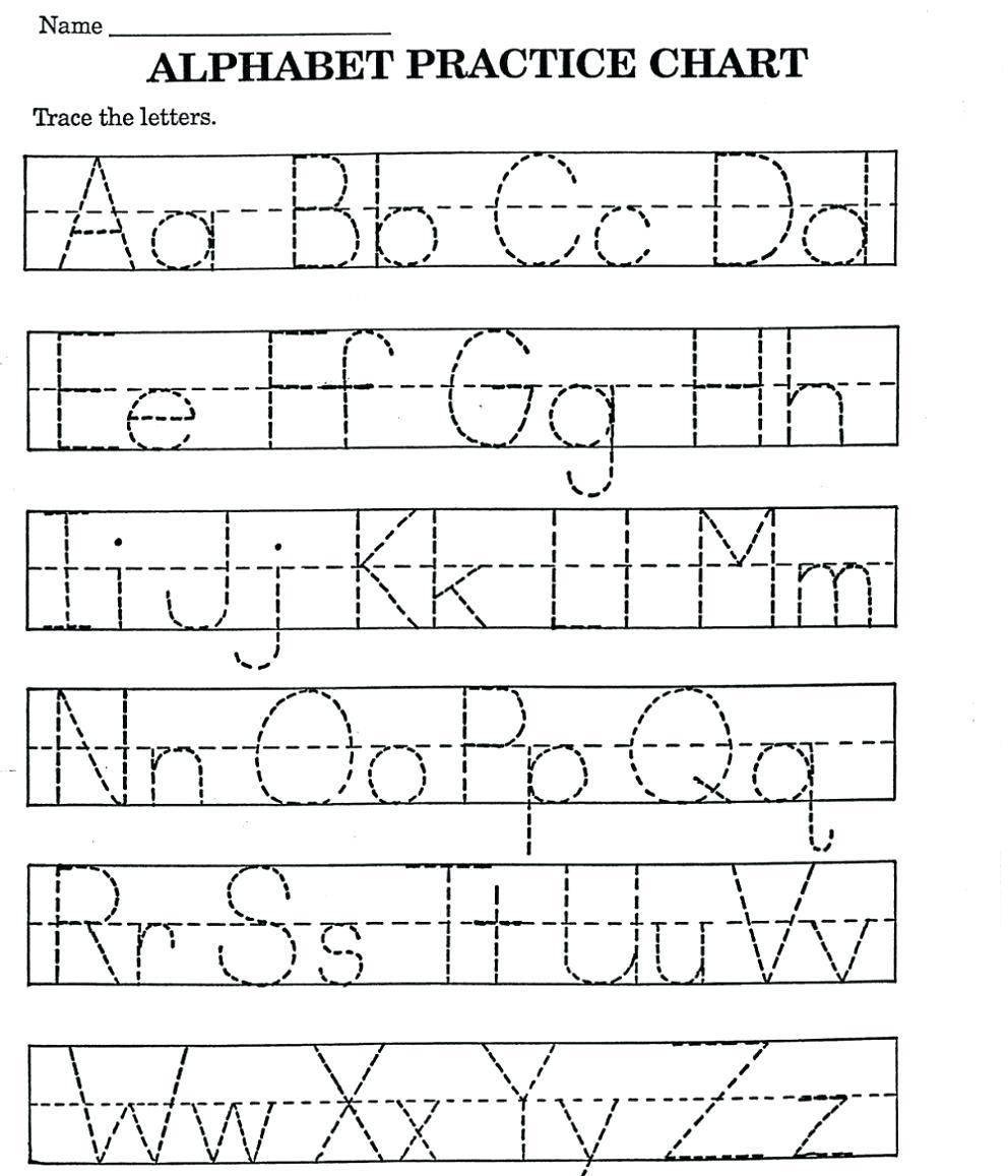 Letter Tracing Worksheets A Z Letter Recognition Worksheets Alphabet Worksheets Preschool Kindergarten Worksheets Printable