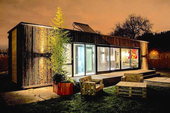 prototype pour construire une maison container en 3 jours shipping container house pinterest. Black Bedroom Furniture Sets. Home Design Ideas