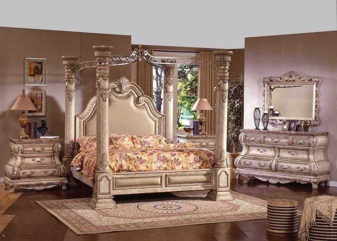 Cream Victorian Bedroom Design Idea In Victorian Inspired Bedroom