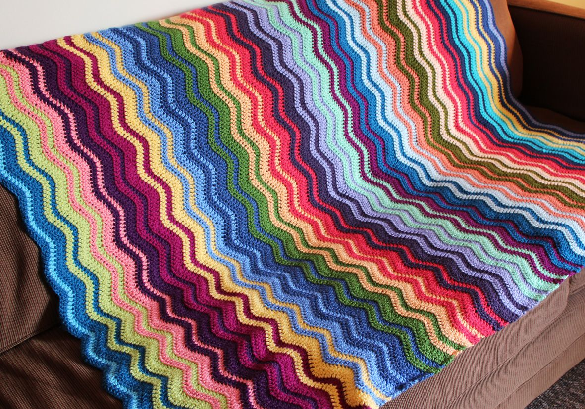 Hanna Banana : Random Ripple (Lori)   Crochet: Stripes, Ripples, and ...