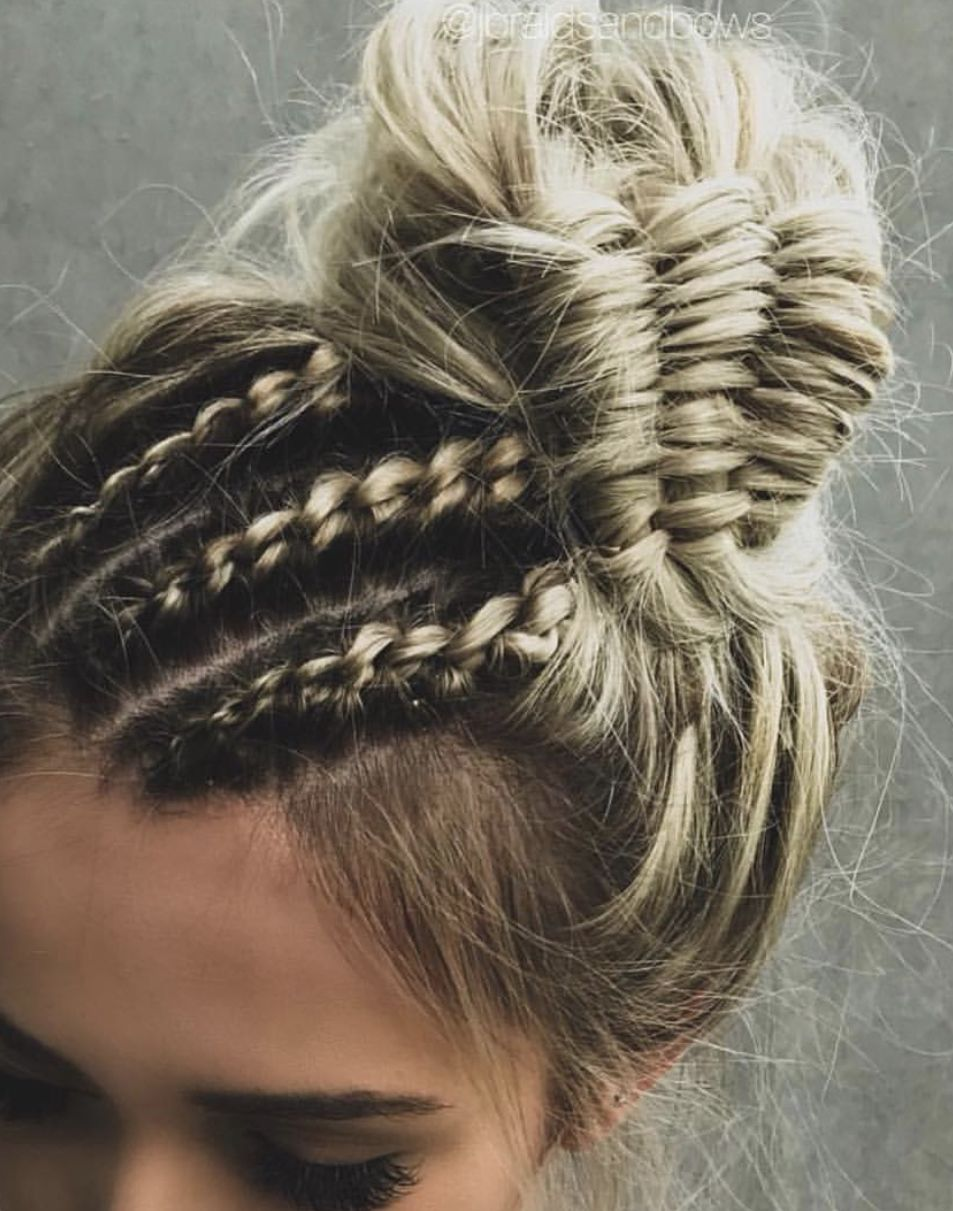 Pin By Natures Knockout On Hairstyle Collection Braided Hairstyles Hair Styles Braided Ponytail