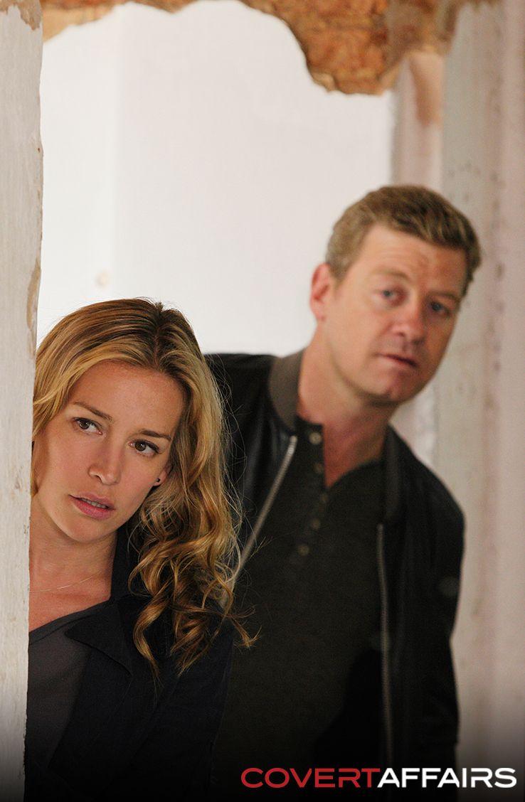 Annie and McQuaid - Covert Affairs