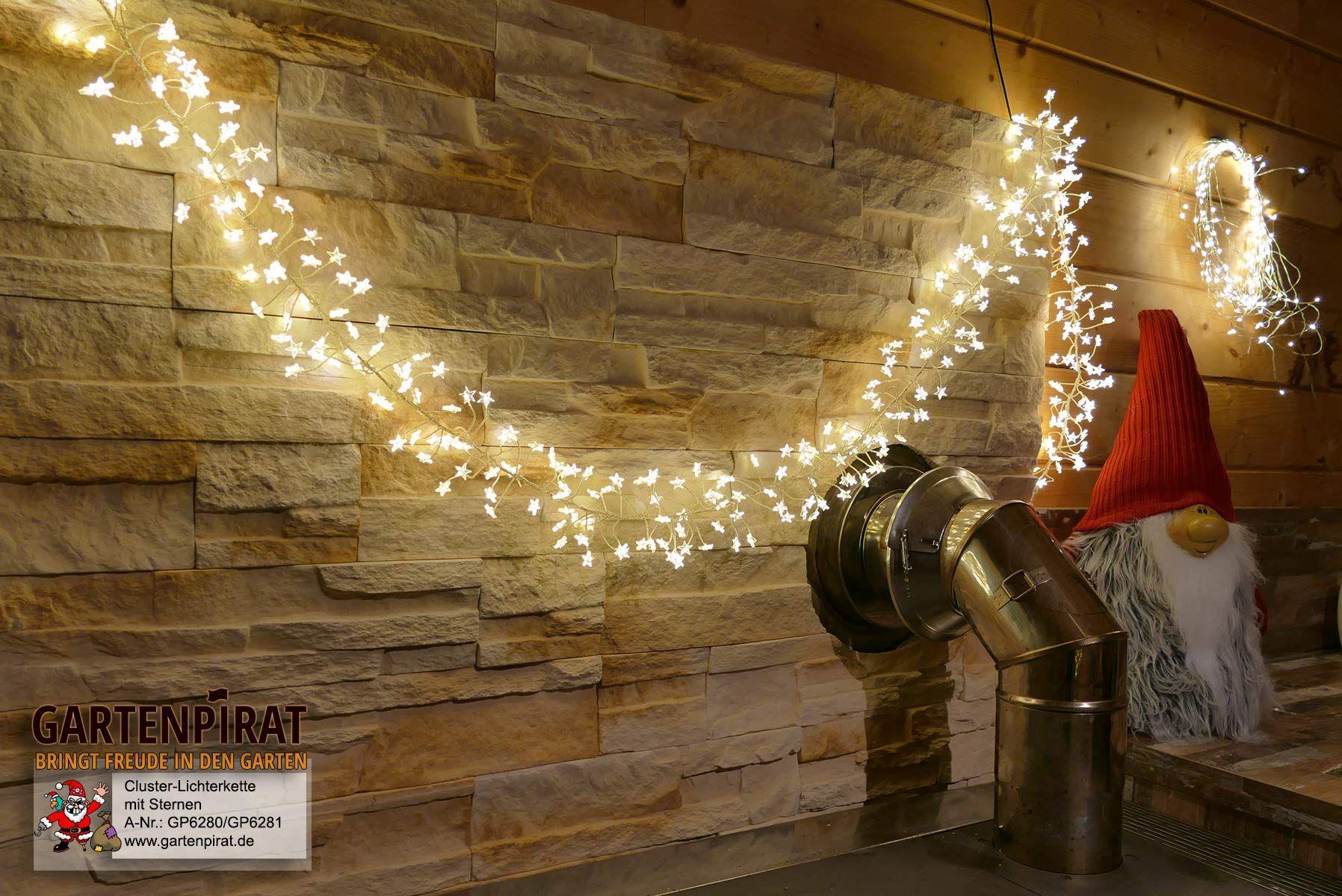 Weihnachtslichterkette mit 400 sterne zur #deko #weihnachten