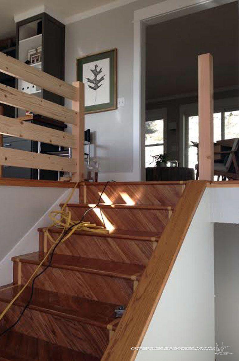 Best Building A Sleek Railing Railing Stair Railing Stair Angle 400 x 300