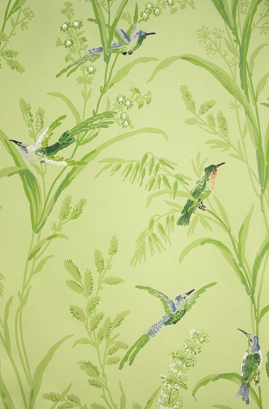 Thibaut Soft Green Wallpaper