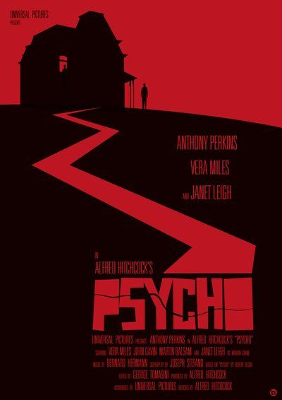 """Psycho"" (1960) directed by Alfred Hitchcock"