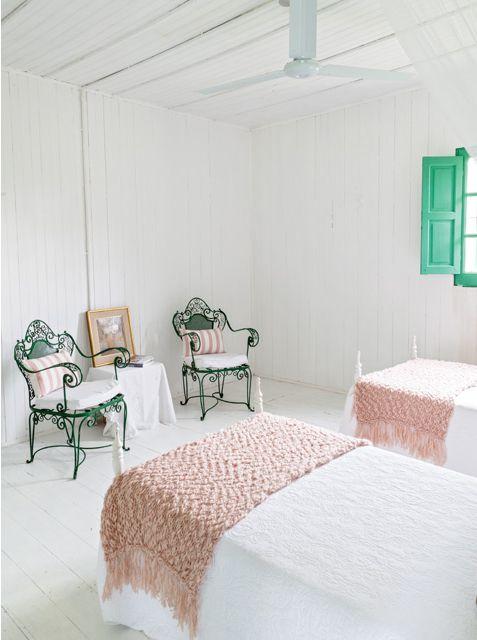 Estilo campo 2 casas con decoraci n artesanal - Dormitorios juveniles rusticos ...