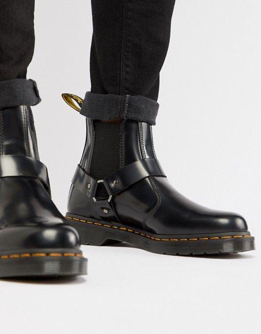 dr martens wincox chelsea boots in black drmartins dr. Black Bedroom Furniture Sets. Home Design Ideas