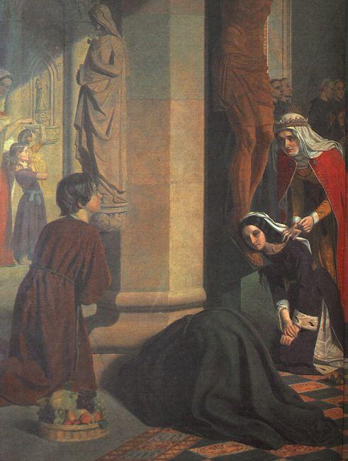 James Collinson (1825 – 1881) – Pintor Inglês_1a