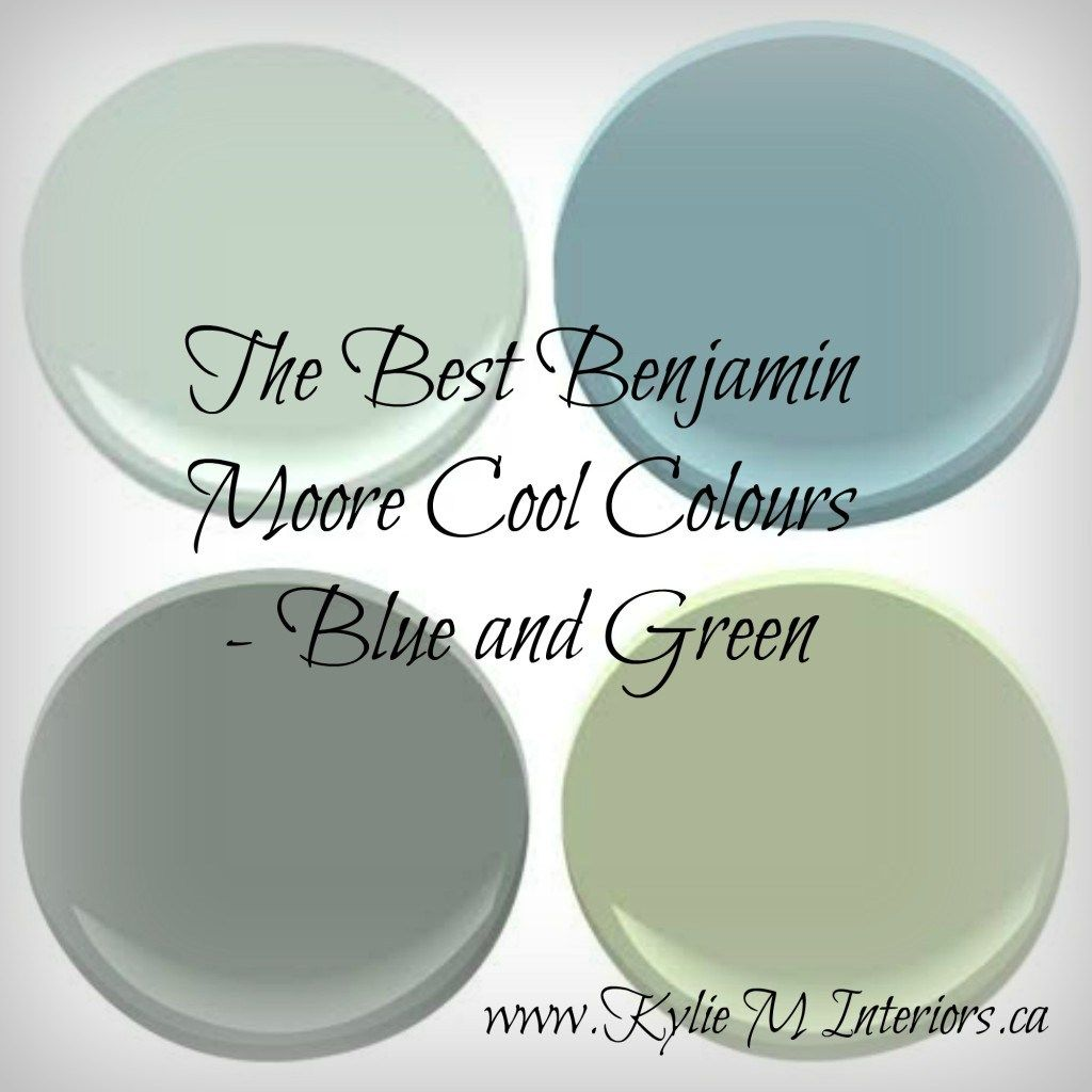 The Best Benjamin Moore Cool Paint Colours Blue And
