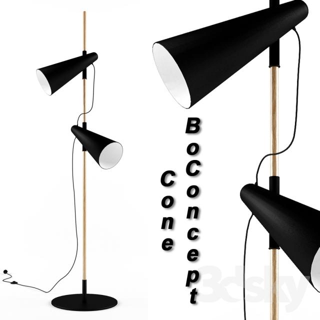 3d models: Floor lamp boConcept cone in 2020 | Floor lamp