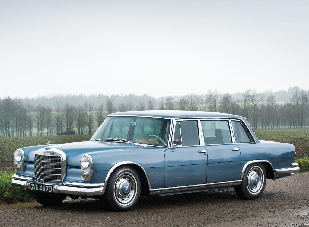 Mercedes-Benz 600 US-spec (W100) '1964–81