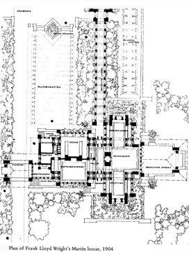 Flw S Martin House Frank Lloyd Wright Martin House Falling Water Frank Lloyd Wright