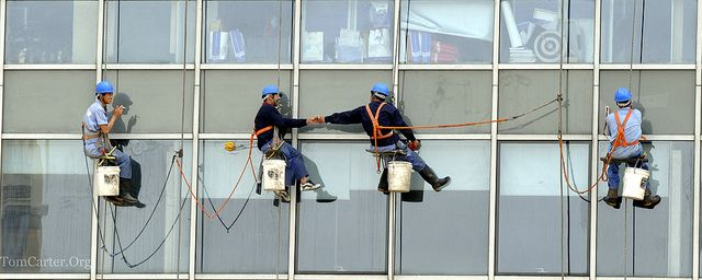 High Rise Window Cleaning Window Cleaner Professional Window