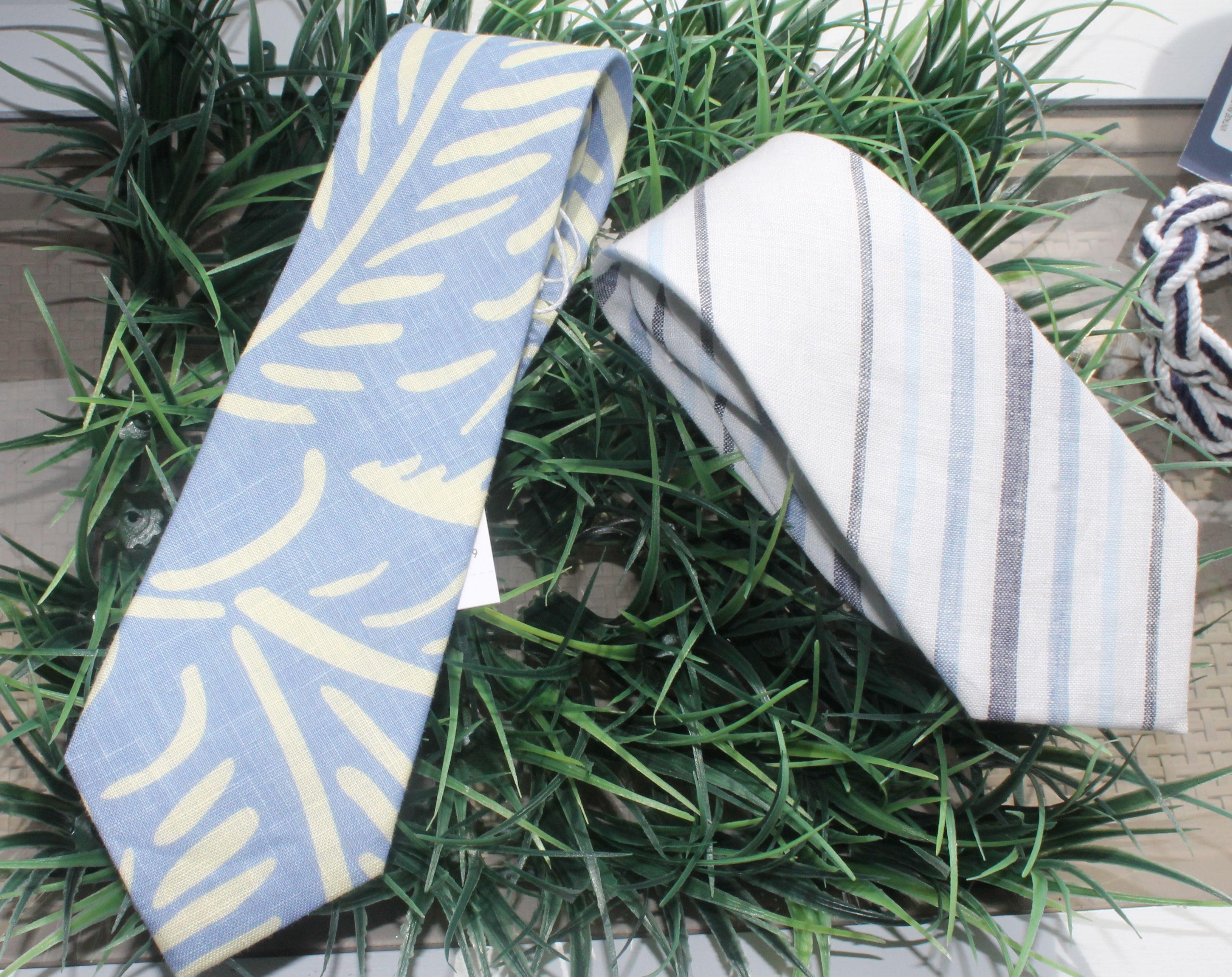 Island Company. Linen ties.