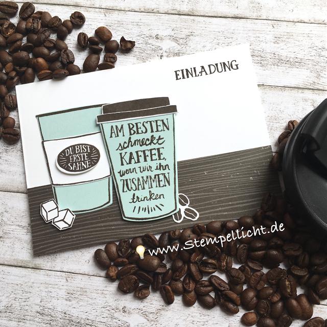 einladung zum kaffee mit produktpaket kaffee ole und so viele, Einladung
