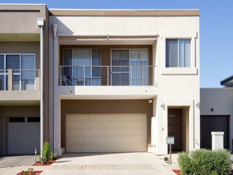 Balcony Contemporary Modern Rendered Semi Detached Steel