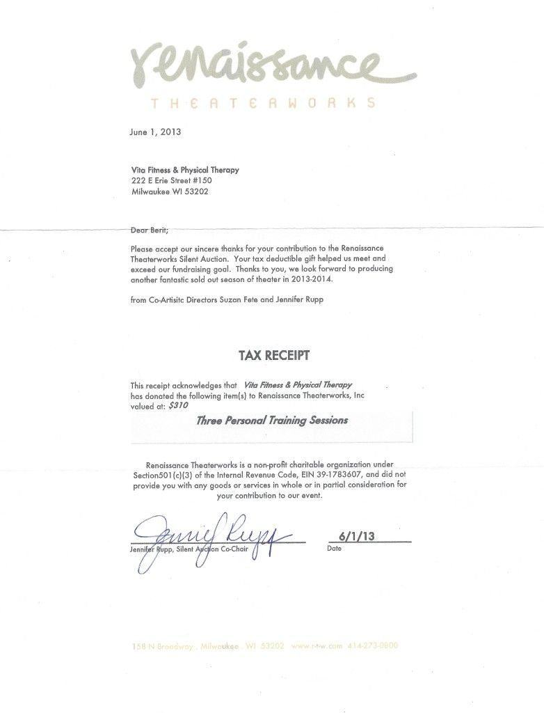 Charity Auction Donation Letter Sample Doc Forms Templates… | Thank