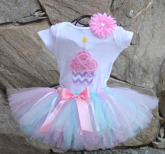 Girls Birthday Outfit Birthday Shirt Birthday Girl Outfit Infant Fuchsia Cupcake Shirt Fuchsia Cupcake Ruffle Bodysuit