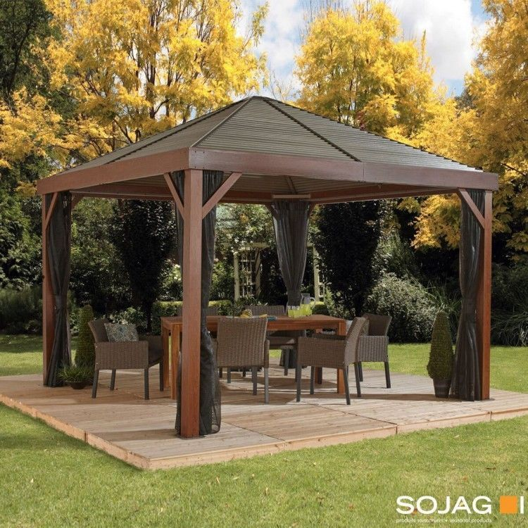 Patio Hard Top Conversion From Canvas Gazebo Roof Diy Gazebo
