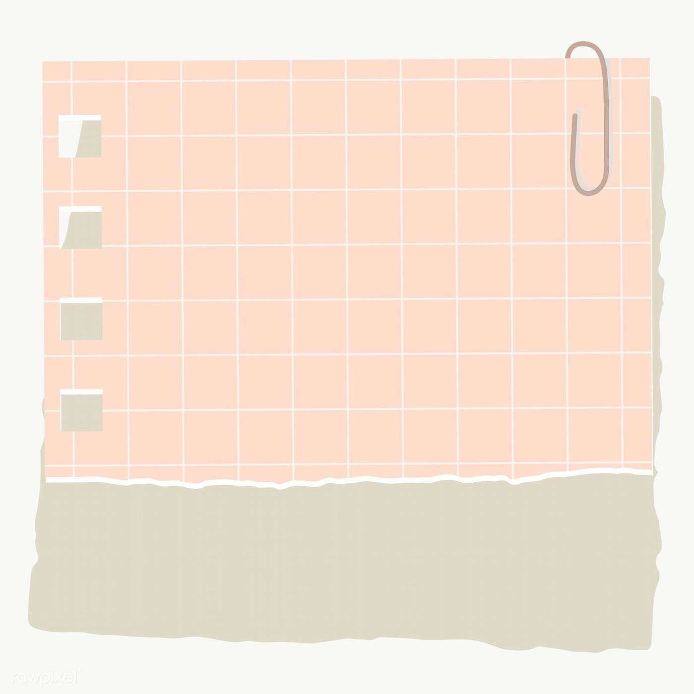 Pink Square Paper Note Social Ads Template Transparent Png Free Image By Rawpixel Com Manotang Note Paper Paper Background Texture Aesthetic Stickers