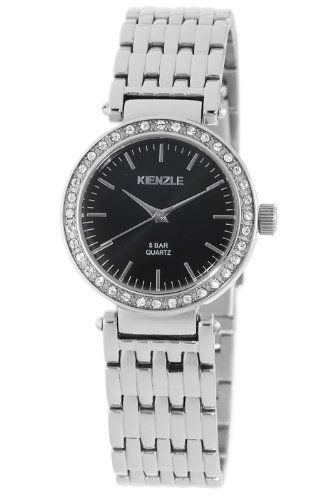 Kienzle Women's V71092342790 Klassik Black Dial Watch Kienzle. $149.00. Stainless-steel case; black dial. Mineral crystal protects watch. Case diameter: 30 mm. Water-resistant to 165 feet (50 M). Quartz movement