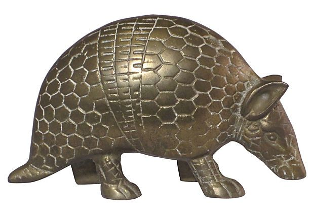 Brass Armadillo On Onekingslane Com Decorative Items