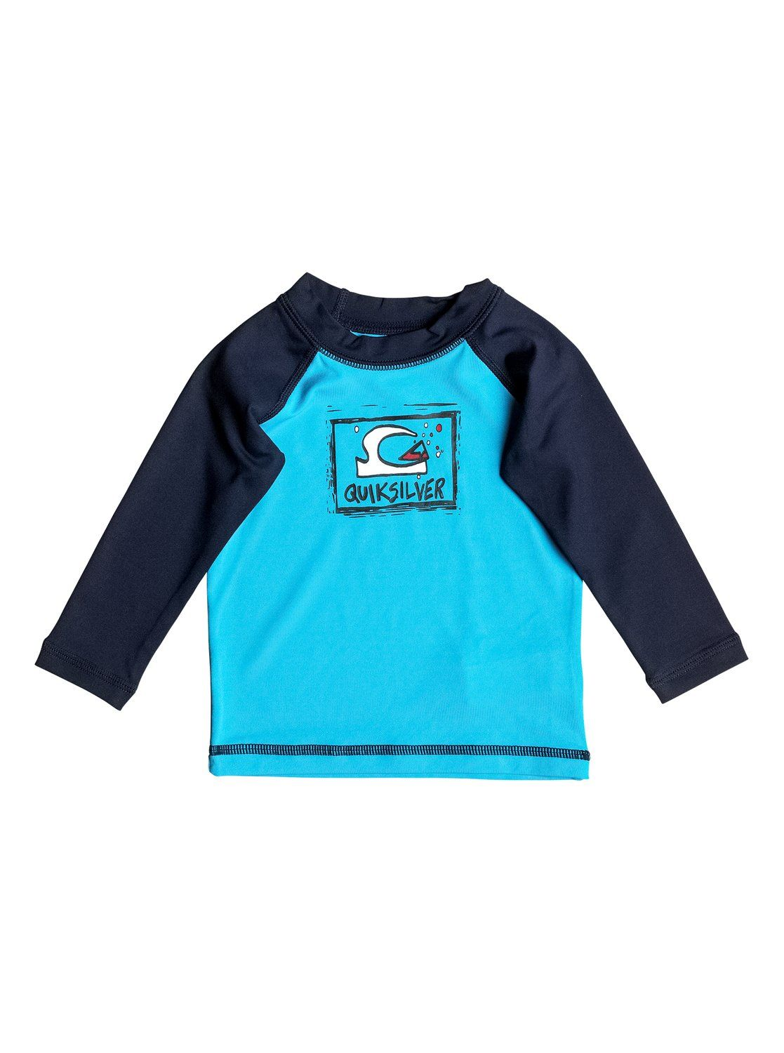 1d18f9883b quiksilver, Baby Bubble Dream Long Sleeve Rashguard, BLUE DANUBE ...