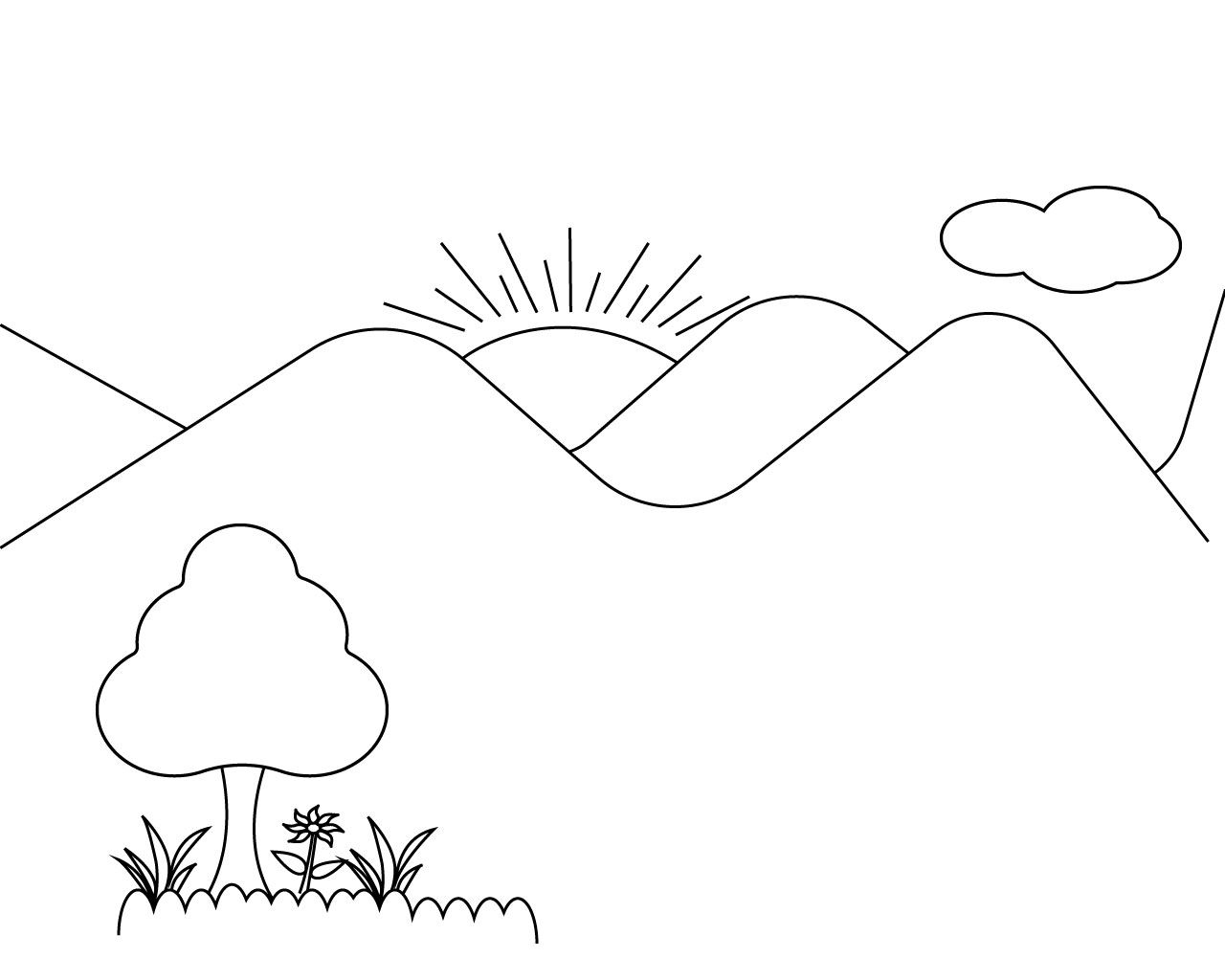 Orange Coloring Pages For Toddlers Coloring Pages Sun Coloring