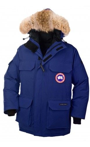 Canada Goose Mens Expedition Parkah Pacific Blue - Coats & Outerwear