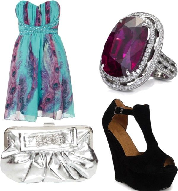 """party wear"" by jackie-16 on Polyvore"